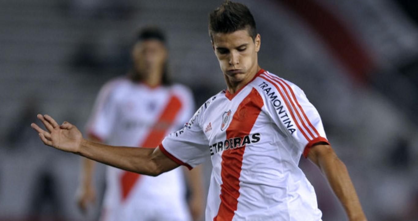 Lamela, quando actuava pelo River Plate - José Chieira