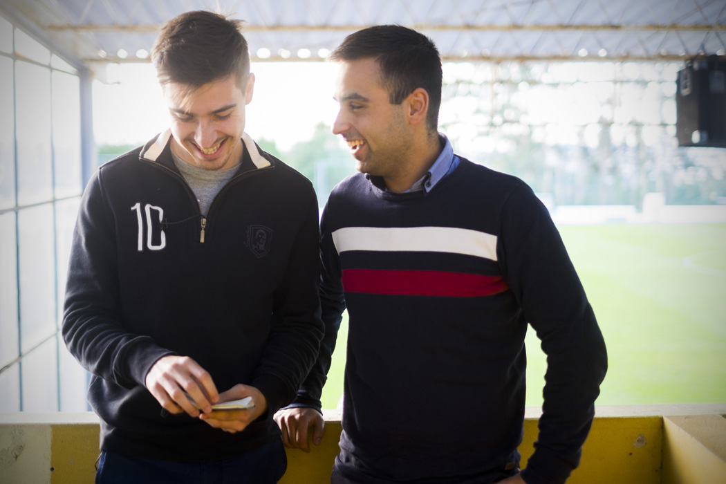 Carlos Bessa e Pedro Costa football manager