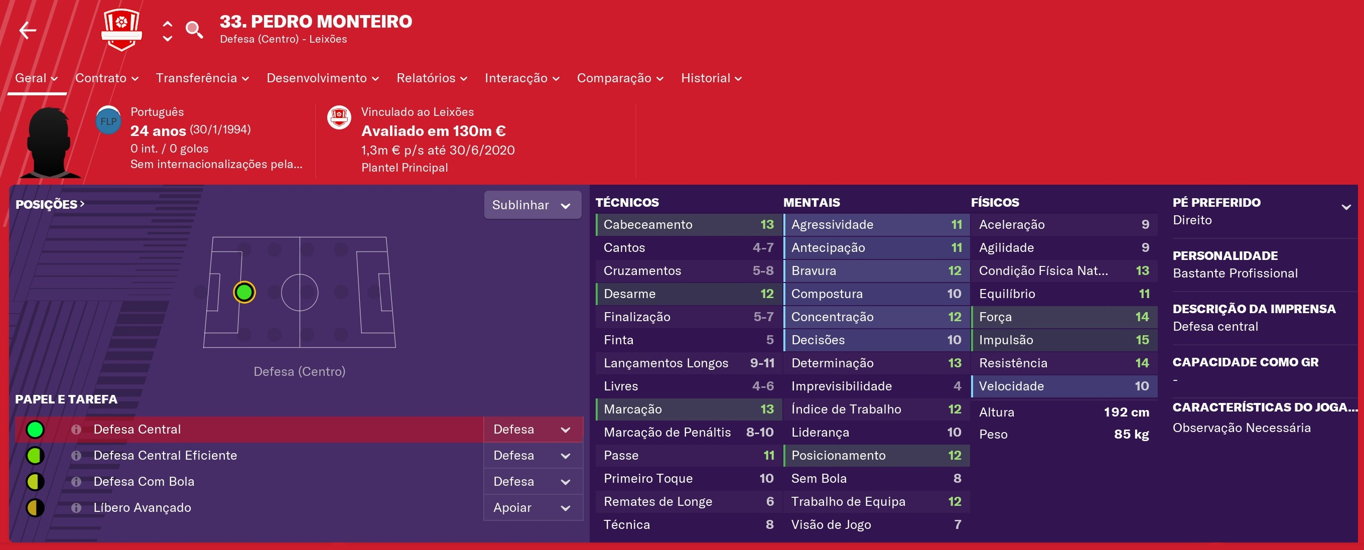 Os craques também jogam: Pedro Monteiro