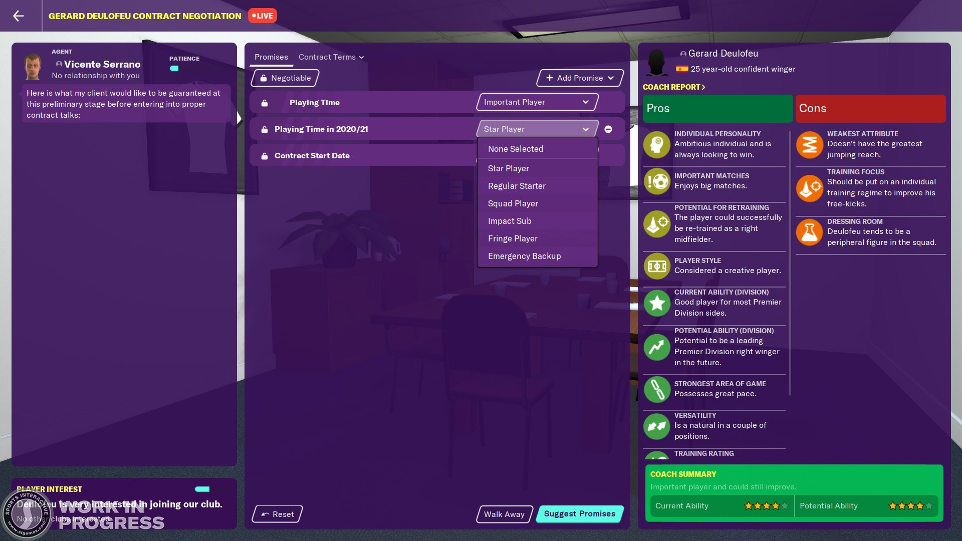 Novidades do Football Manager 2020