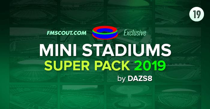 Mini Stadiums Superpack