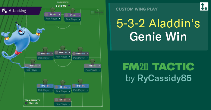 [FM20] Táctica 5-3-2 Aladdin's Genie