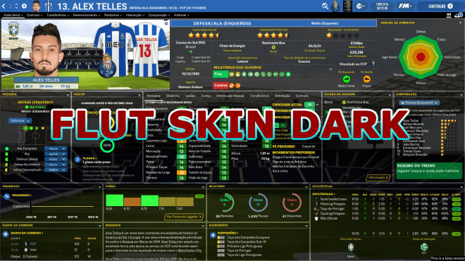 FLUT Skin Dark 1.6V