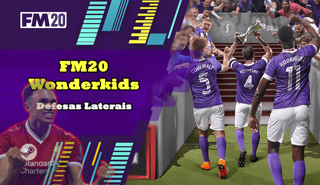 FM20 Wonderkids – Defesas Laterais