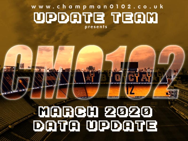 [CM 01/02] Atualização até Março/2020