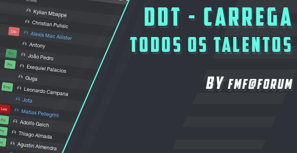 DDT: Maiores Talentos