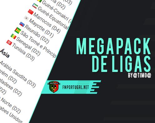 FM20 Leagues Mega Pack 100 Países