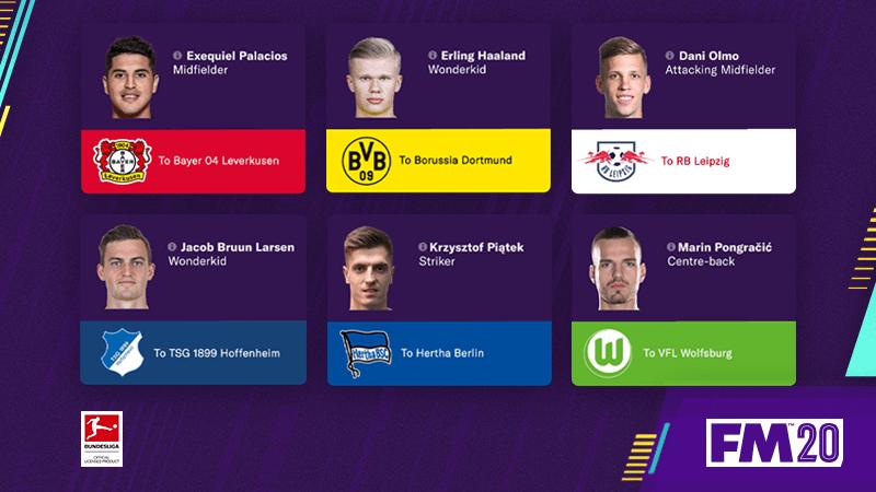 Atualização de inverno do Football Manager 2020