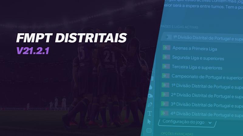 FMPT Distritais de Portugal